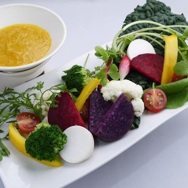 野菜メインのヘルシー料理